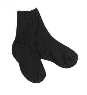 Joha wollen sokken zwart volwassenen