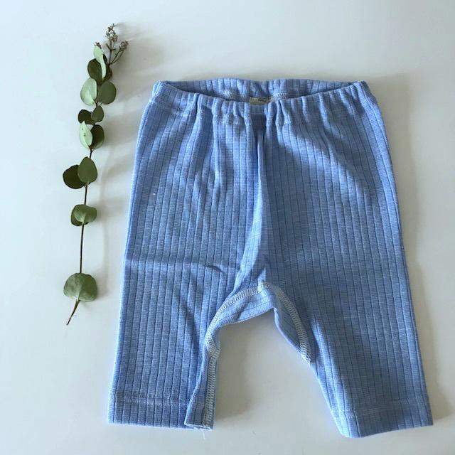 Cosilana wolzijdekatoen shorts blauw