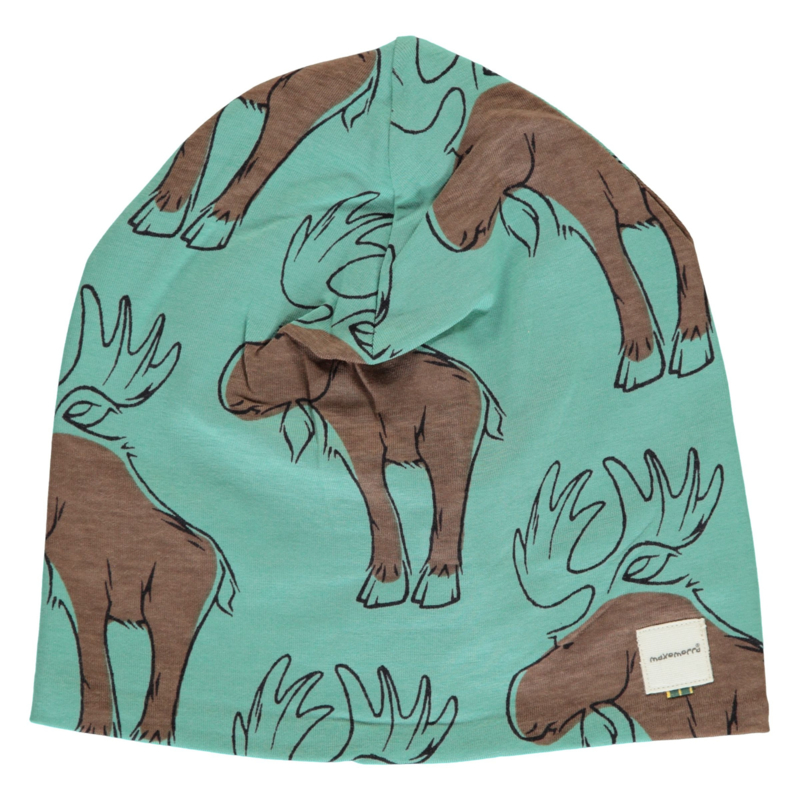 Maxomorra Hat Velour Moose