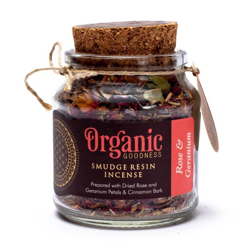 Song of India - Organic Goodness Wierookkruid Roos en Geranium