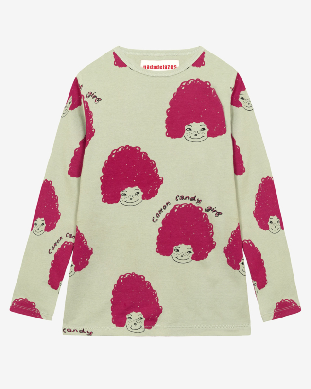 Nadadelazos Longsleeve Cotton Candy Hair