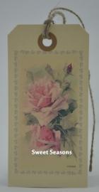 Vintage cadeaulabel, nr. 230