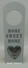 Deurhanger `Home Sweet Home`