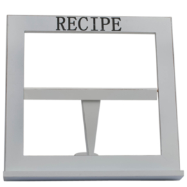 Kookboekstandaard, wit