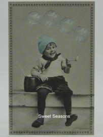 Vintage kaart, enkel, nr. 390