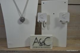 A&C Creolen Diamond Ball S.