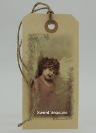 Vintage cadeaulabel, nr. 78