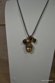 A&C Collier Buddha Bronze S.