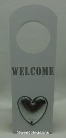 Deurhanger `Welcome`