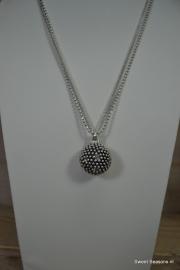 A&C Collier Diamond Ball 1.S., groot