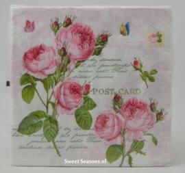Servet Romantic Roses