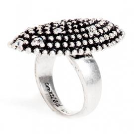 A&C Ring, ovaal, Diamond Ball