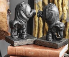 Boekensteunen Happy olifanten