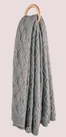 Plaid Villach Dark grey (dubbel)