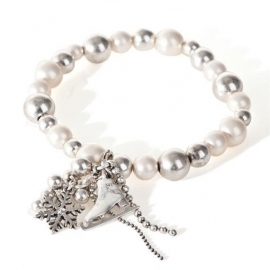 A&C Armband Winterdream met winterse bedels