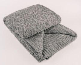 Plaid Villach Dark grey (dubbel)