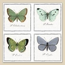 Servet Butterflies, 33x33 cm, nr. 80056