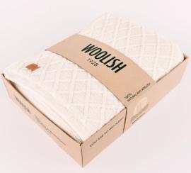 Plaid Rhombe White (dubbel)