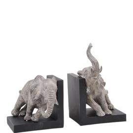 Boekensteunen Duwende olifanten