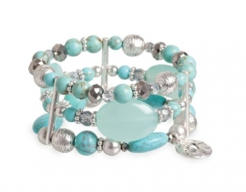 A&C Armband Turquoise Delight, breed