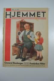 Hjemmet: meisje met pop bij schoenmaker