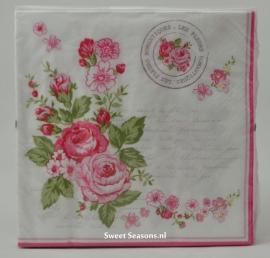 Servet Le Rosier Rose