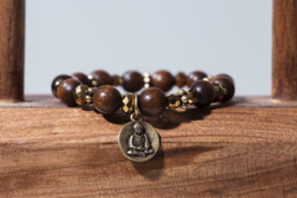 A&C Armband Buddha Bronze 3.S.