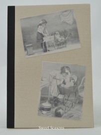 Notitieboekje meisjes met kinderwagen