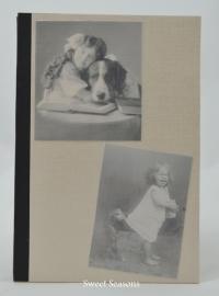 Notitieboekje meisjes met hond