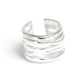 A & C Ring Ocean Blue, silver