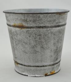 Plantenpot, zink