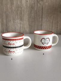 Espresso kopje nr. 3 & 4