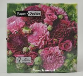 Servet Violet Bouquet