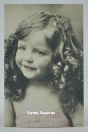 Vintage kaart, enkel, nr. 8034