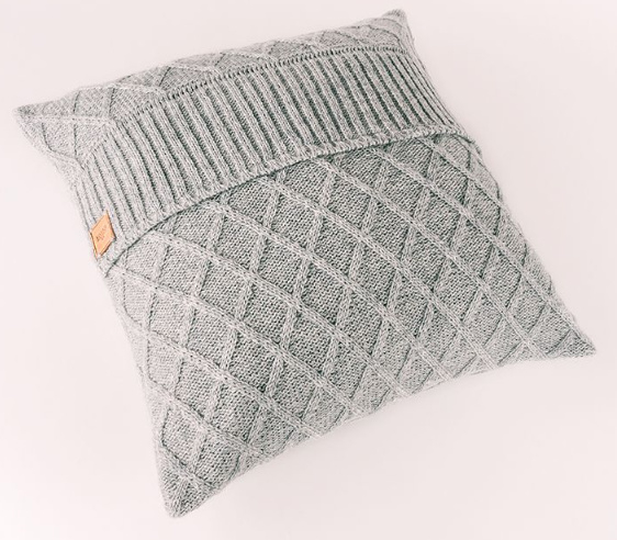 Pillow Rhomb Light grey