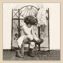 Servet fashion girl, 33x33 cm, nr. 2081