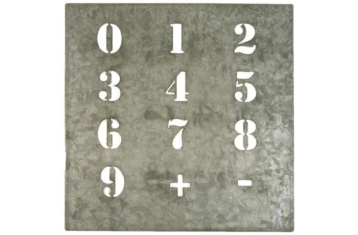 Sjabloon cijfers, klein