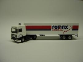 Lion Toys DAF 95 SC met 2 as Oplegger Romax