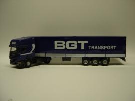 Lion Toys SCANIA TL met 3 as Oplegger BGT Transport