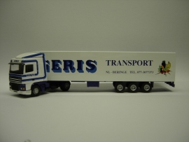 Lion Toys DAF 95 XF SC met Kastenoplegger Geris Transport Beringe
