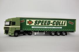 Lion Toys DAF 95 XF SC  met Schuifzeilenoplegger Speed-colli