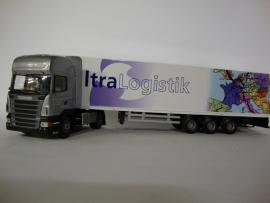 Lion Toys SCANIA R TL met 3 as Oplegger Ultra Logistik