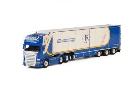 WSI SCANIA R Streamline Topline Semi Box Trailer Riemersma