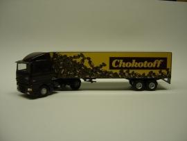 Lion Toys DAF 95 XF met 2 as Oplegger Chokotoff
