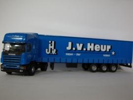 Lion Toys SCANIA TL met 3 as Oplegger J v Heur