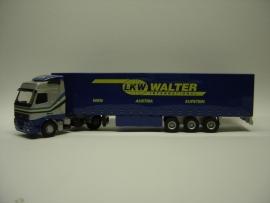 Lion Toys Volvo FH Globetrotter met Kasten Oplegger Walter