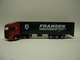 Lion Toys DAF 95 XF SC met Kastenoplegger Fransen Transport Putte