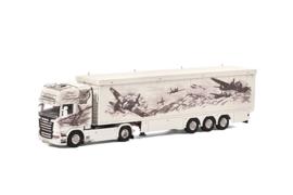WSI SCANIA R Streamline Topline Cargo Floor Oplegger Repinski