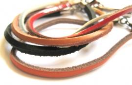 AL-0110 Armband Leer