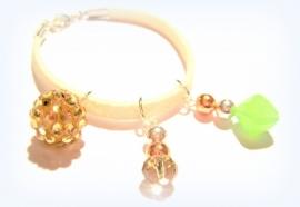 A-0322  Armband met Rosé